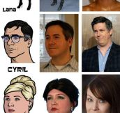 The Cast Of Archer