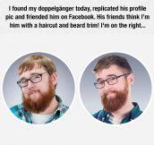 Found My Doppelganger