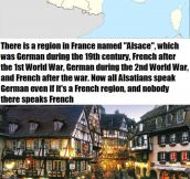 The Story Of Alsace, French Vs. Germany