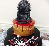 The Edible Throne Is An Amazing Detail