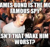 James Bond Contradiction