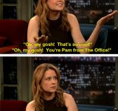 You're Pam From The Office