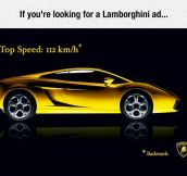 Probably The Best Lamborghini Ad