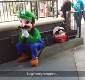 Luigi Had Enough