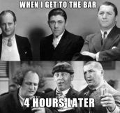 Going To A Bar