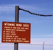 The Wyoming Wind Sock