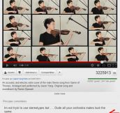 Oh, YouTube Users