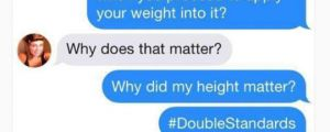 Weight Vs. Height