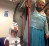 It Seems Elsa Really Let Herself Go