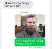 Wendy And Her Beard
