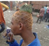 SpongeBob Haircut