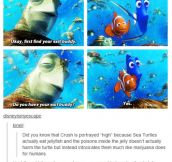 Something About Crush From Finding Nemo