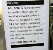 18 Exceptionally Funny Job Opportunities