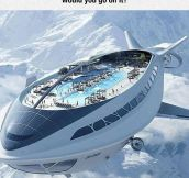 Flying Cruise Ship