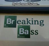 We Have A Breaking Bad Fan Over Here