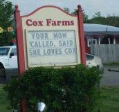 Farmer's Market Humor