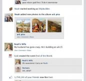 Noah's Ark Facebook Feed