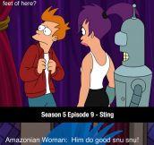 Futurama Writers Were Really Good