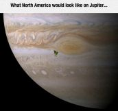 I Didn't Realize Jupiter Is So Big