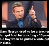 Badass Liam Neeson