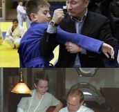 Putin That Boy In Its Place