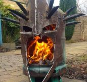 Witch King Fire Pit