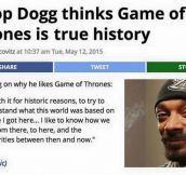 Oh, Snoop Dog…