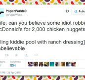 Chicken Nuggets Robbery