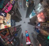 Perfect Picture Taken At Times Square