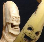 Banana Sculpture By Keisuke Yamada
