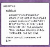 Dramatic Death