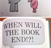 The Book Ends?
