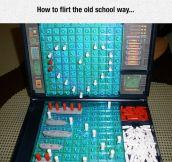 Old School Flirting