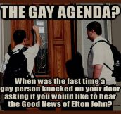 Gay Agenda Worshipers