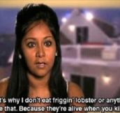Why She Won't Eat Lobster