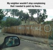 Messing With The Neighbors