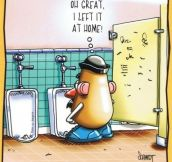 Mr. Potato Head Problems