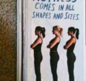 Those Women Are Different Sizes?
