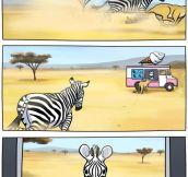 Life Is Really Hard At The Savanna