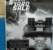 25 Brilliant Yard Sale Signs
