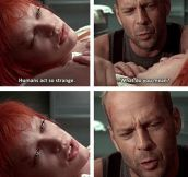 Powerful Words From Leeloo