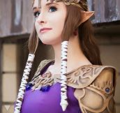Zelda Cosplay Win