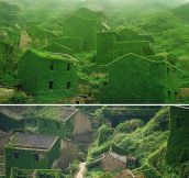 An Abandoned Chinese Village