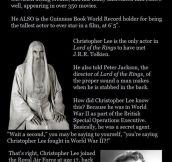 The Awesome Christopher Lee
