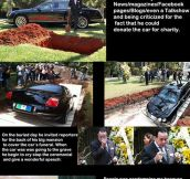 Guy Buries A Million-Dollar Car And Blows Your Mind
