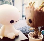 Baymax: On A Scale Of 1 To 10 How Would You Rate Your Pain? Groot: I Am Groot!