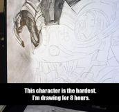 Impressive Avengers Illustration