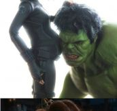 If Black Widow And Hulk Had A Baby