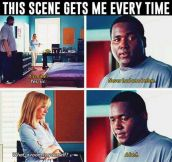The Blind Side's Most Touching Scene