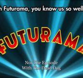 Futurama Warning